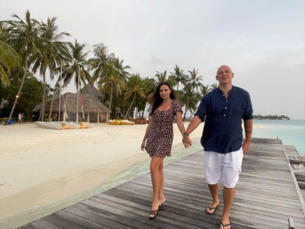 Каменских и Потап на Мальдивах