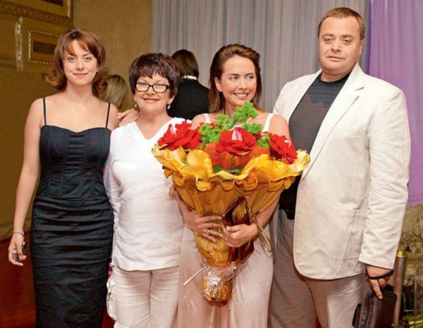 Сестра и родители Жанны Фриске