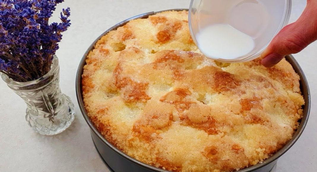 Сахарный пирог: рецепт