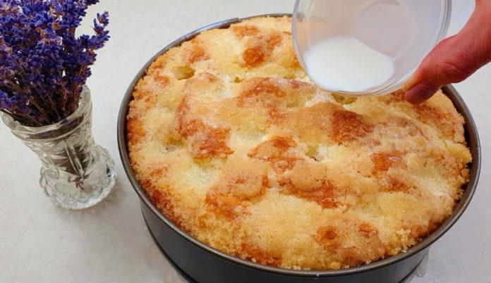 Цукровий пиріг: рецепт
