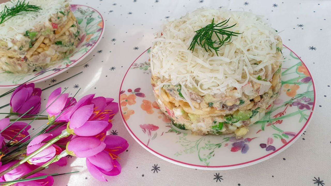 Новый рецепт салата с селедкой