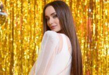 Ксения Мишина в свадебном платье
