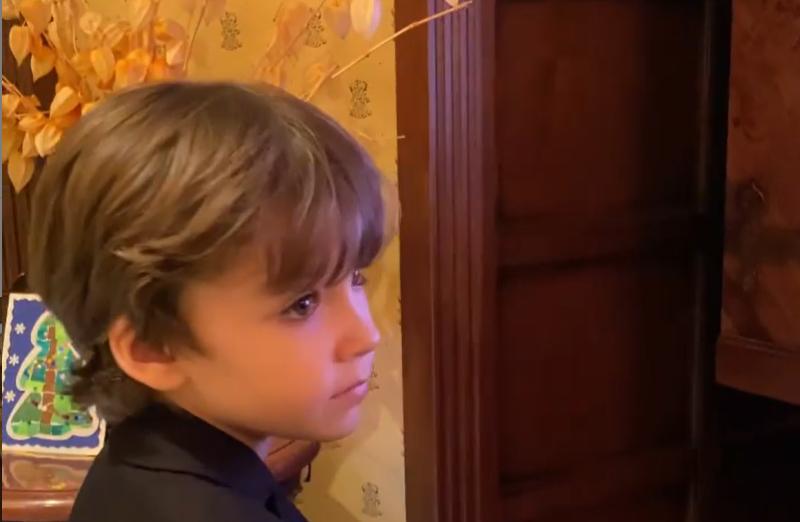 Посмотрите на это выражение личика у ребенка