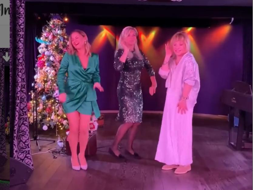 Танцы Аллы Пугачевой и ее гостей