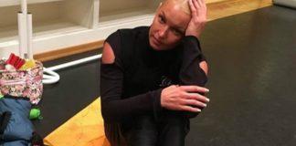 Анастасія Волочкова показала ноги - все в мозолях