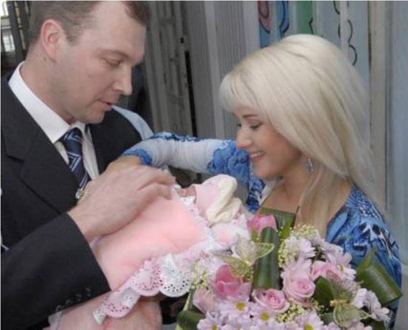 Катерина Бужинська і другий гранданскій чоловік Володимир Ростунов