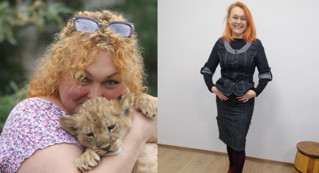 Наталья Захарова до и после похудения