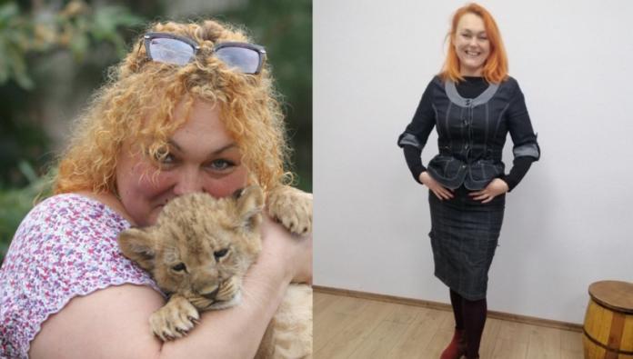 Наталя Захарова до і після схуднення