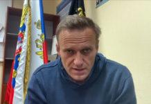 Олексій Навальний в суді