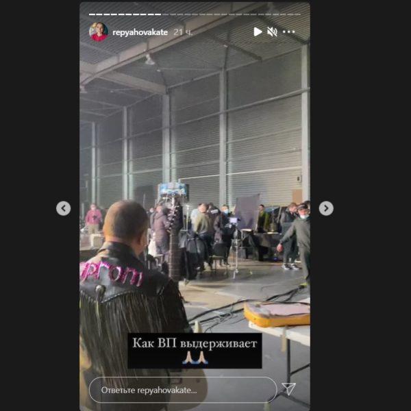 Катерина Репяхова показала кадри зі зйомок реклами Віктора Павлика для сайту Пром.юа