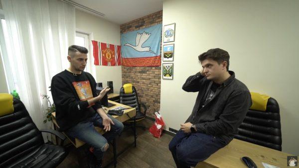 Эллерт в Зе Интервьюер