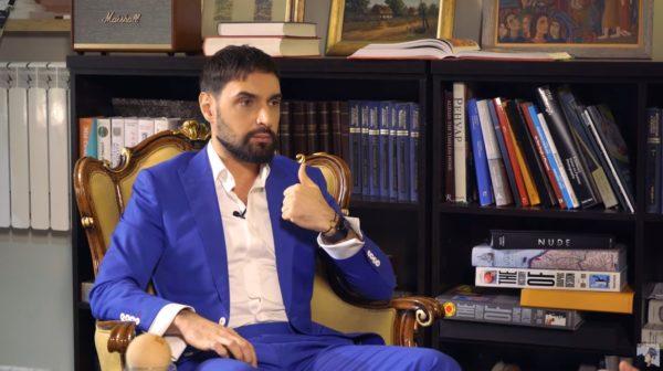 Виталий Козловский на интервью у Снежаны Егоровой