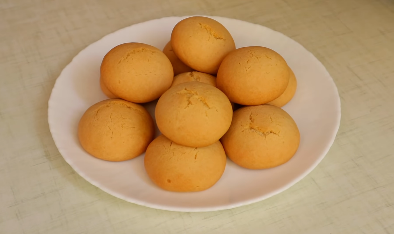Песочное печенье на растительном масле