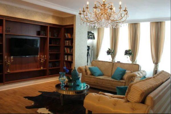 Як виглядає квартира Лариси Доліної