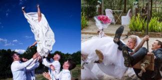 Смешные свадебные моменты