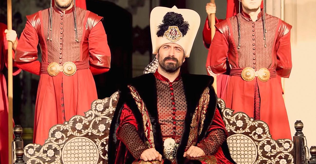 Султан Сулейман в серіалі