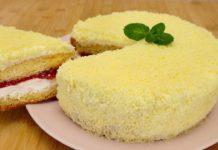 Бісквітний торт