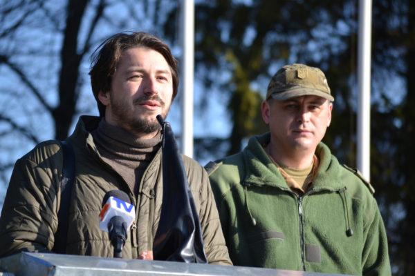 Притула помогает украинской армии