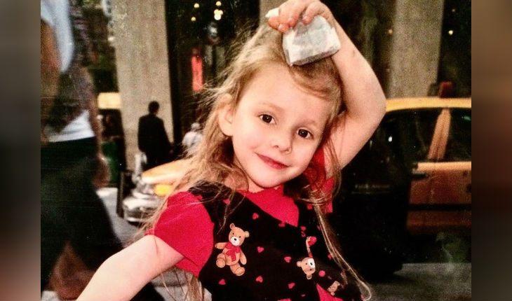 Ліза Арзамасова в дитинстві