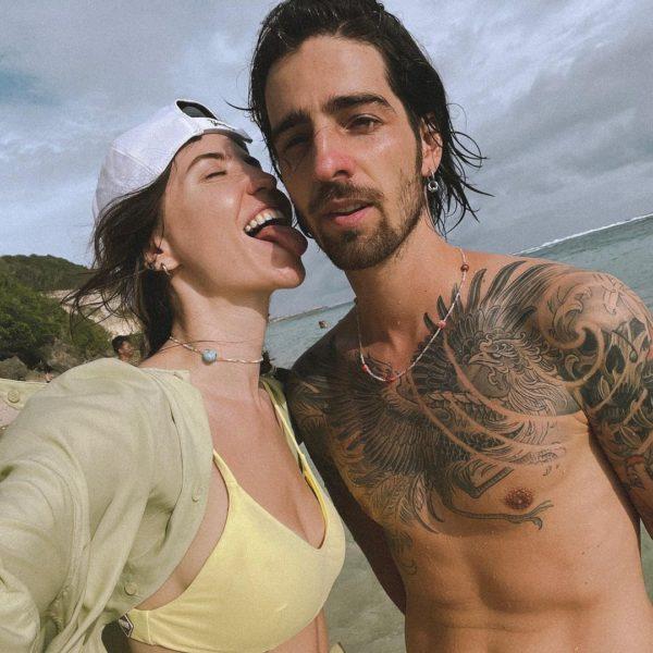 Надя Дорофеева и Владимир Дантес на Бали
