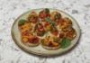 Запечений болгарський перець з кунжутом. Рецепт закуски від Лізи Глінської