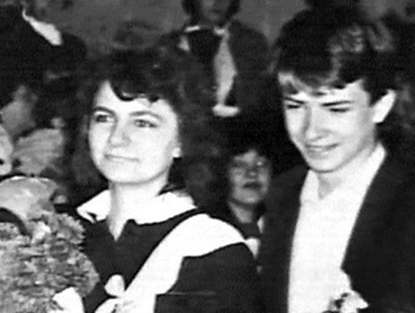 Андрій Данилко зі своєю однокласницею