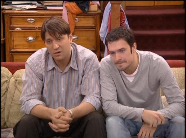 Виктор Логинов в роли Гены Букина и его сериальный друг Толик