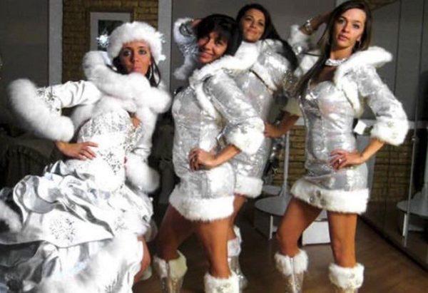 Коли залишилися костюми з новорічного корпоративу
