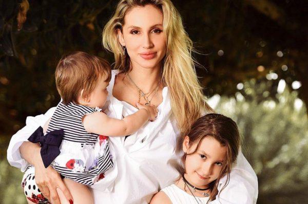 Лобода с дочками Евой и Тильдой