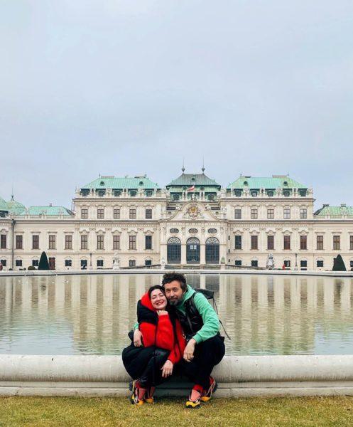 Снежана Бабкина и Сергей Бабкин в Австрии
