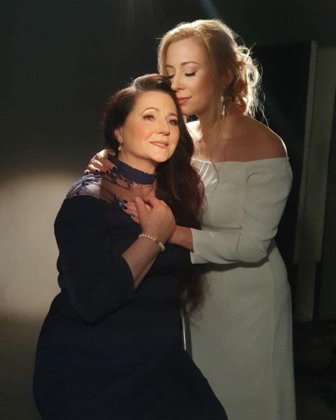 Тоня Матвієнко та її мати Ніна Матвієнко
