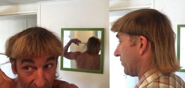 Когда подстриг себя сам