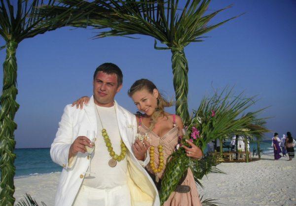 Весілля Тіни Кароль на Мальдівах