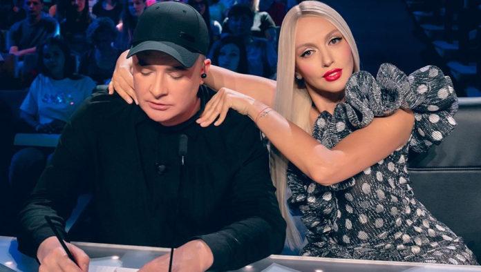 Андрій Данилко та Оля Полякова