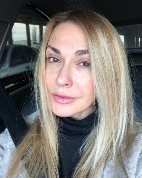 Ольга Сумська без макіяжу