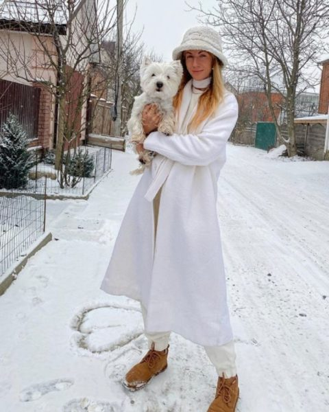 Леся Никитюк похвалилася стильним цибулею