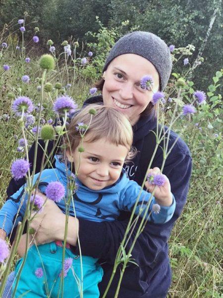 Неллі Уварова з сином