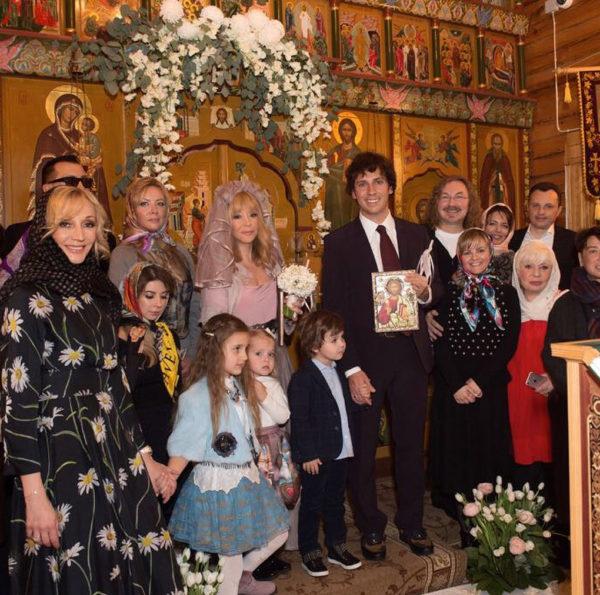 Максим Галкін і Алла Пугачова обвінчалися в 2017 році