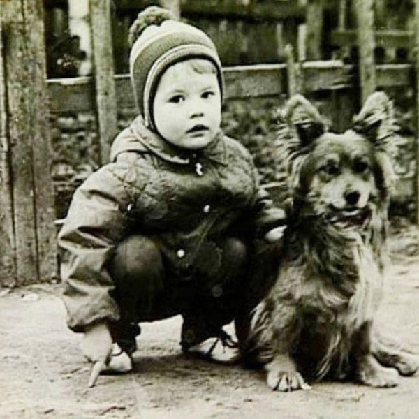 Андрій Данилко в дитинстві