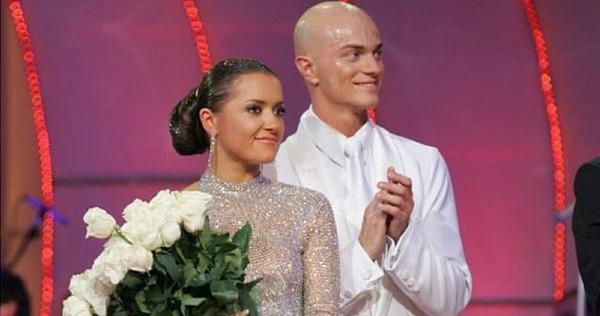 Наталья Могилевская с Владом Ямой в молодости