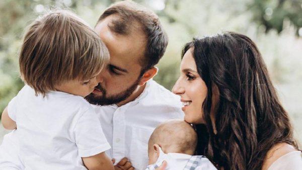 Джамала з чоловіком і синами