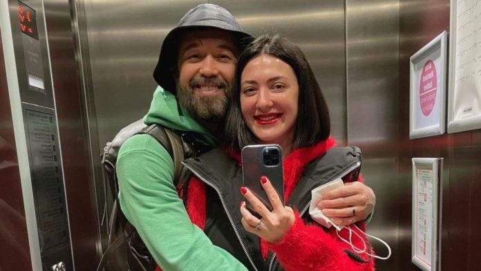 Сергій Бабкін з дружиною