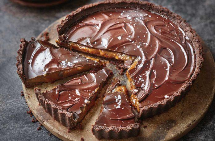 Шоколадний пиріг мільйонера