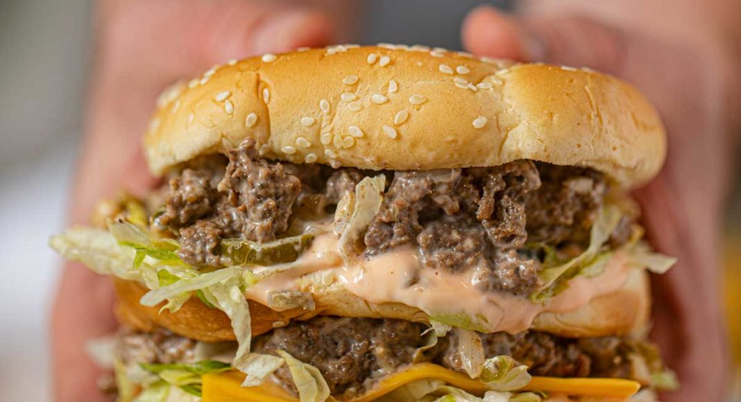 Большой двойной чизбургер