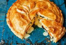 Пиріг з сиром і картоплею