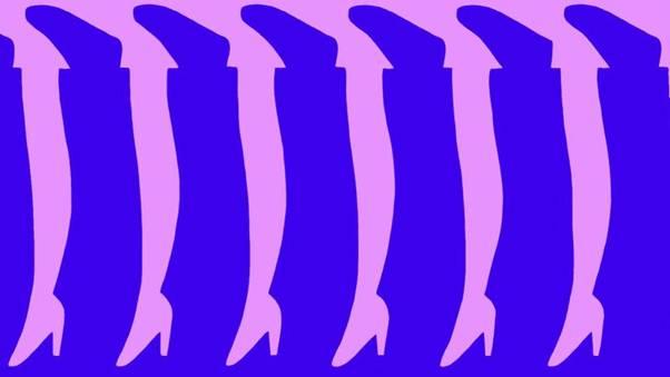 Сколько ног вы видите?