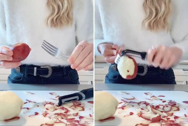 Безпечно, швидко і економно - очищення картоплі