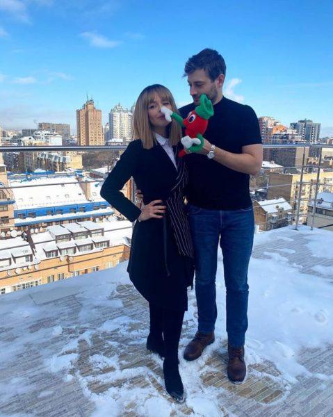 Алина Гросу и Роман Полянский