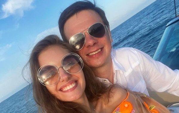 Дмитрий Комаров и Александра Кучеренко - самая красивая пара в украинском шоу-бизнесе