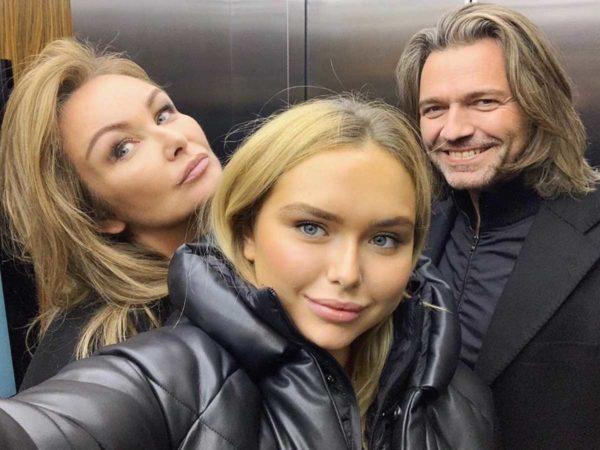 Дмитрий Маликов и его семья
